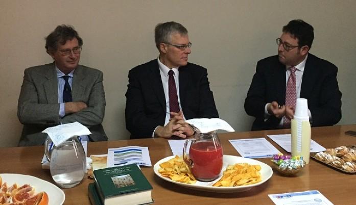 Confagricoltura incontra l'ambasciatore di Israele