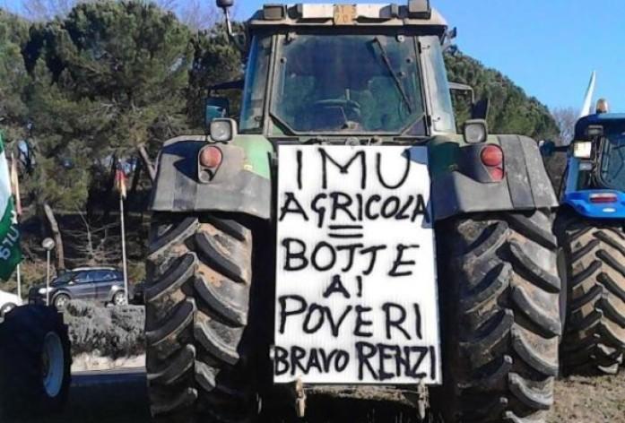 Imu agricola, manifestazione nazionale contro la tassa a fine marzo