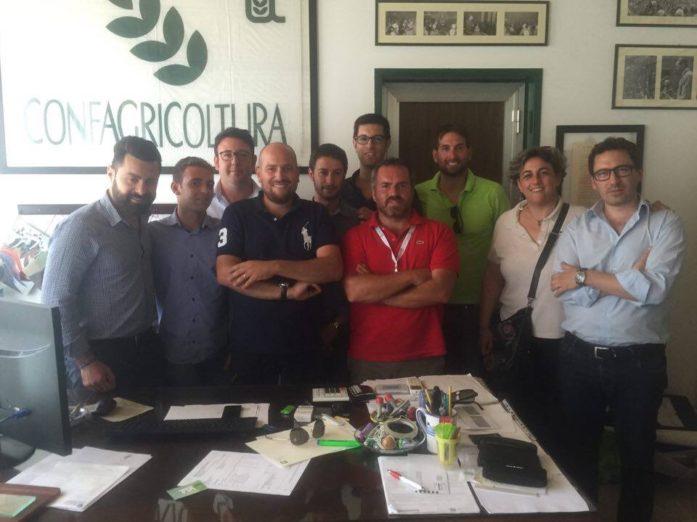 Giovani agricoltori. Giosue Arcoria è il nuovo presidente dell'Anga Catania